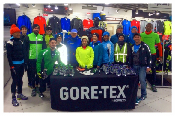 #TBT | First sponsored run of 2014. Windy, cold, and snowy night but still didn't stop us! Let's start this season with a bang!
